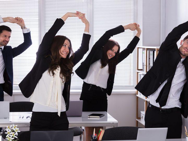 Por que investir em ginástica laboral na sua empresa