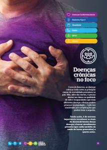Página de e-book da Aon produzido pela Latinmed sobre doenças crônicas
