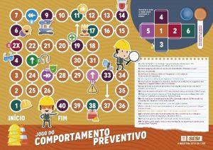 Jogo de campanha de saúde do SESI-RS produzido pela Latinmed