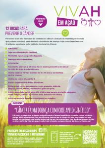 Capa da newsletter Vivah produzida pela Latinmed, edição de fevereiro de 2020