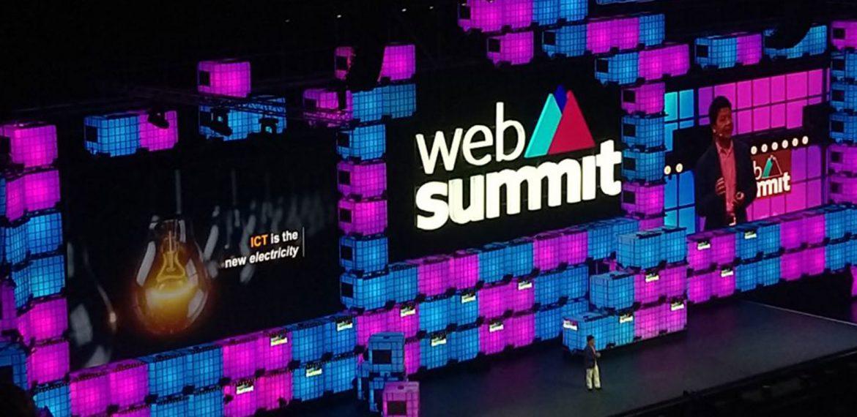 Palco do web summit 2019