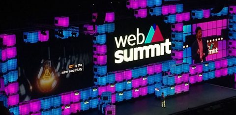Palco do web summit 2019