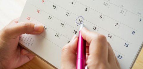 Verificando as datas de campanha de saúde