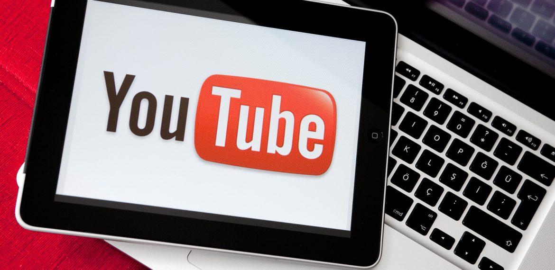 Tablet com youtube aberto