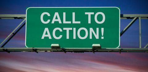 Ilustração Call to action